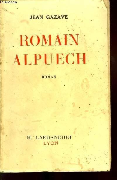 ROMAIN ALPUECH