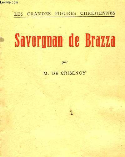 SAVORGNAN DE BRAZA