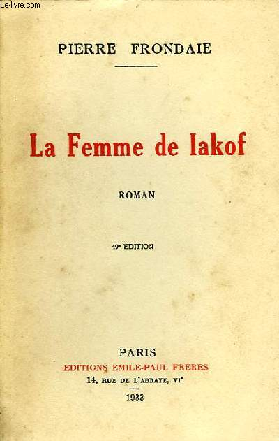 LA FEMME DE IAKOF