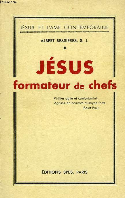 JESUS FORMATEUR DE CHEFS