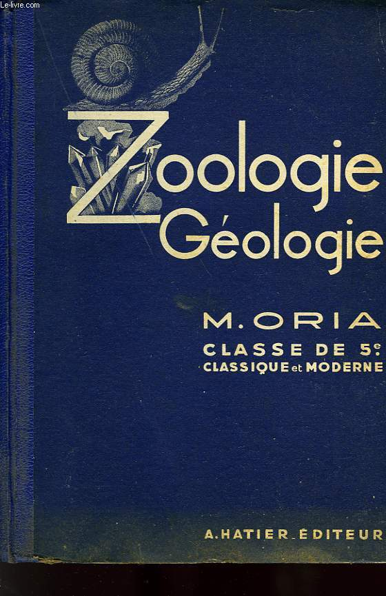 SCIENCES NATURELLES, ZOOLOGIE, GEOLOGIE, CLASSE DE 5e
