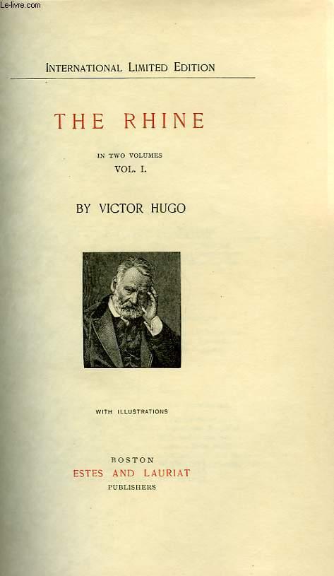 THE RHINE, IN TWO VOLUMES, VOL. I, VOL. II
