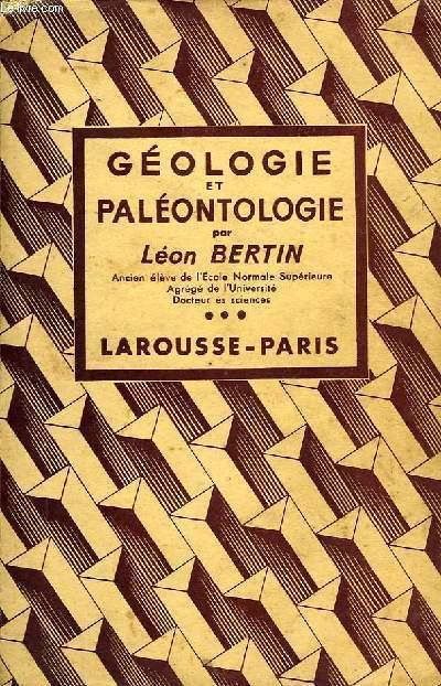GEOLOGIE ET PALEONTOLOGIE, ENP, ENPS, CANDIDATS A L'IA ET AUX ENA, CANDIDATS AUX ENS ET AU SPCN