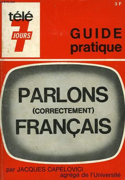 PARLONS FRANCAIS