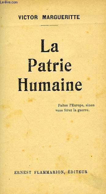 LA PATRIE HUMAINE