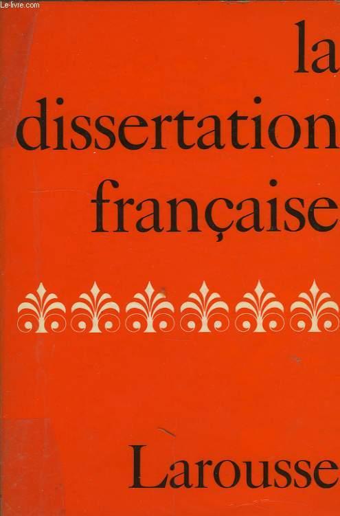 LA DISSERTATION FRANCAISE, LE COMMENTAIRE COMPOSE