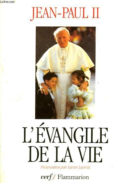 L'EVANGILE DE LA VIE