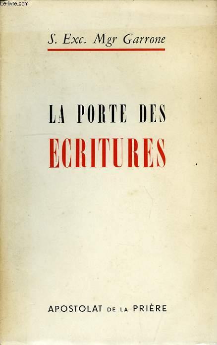LA PORTE DES ECRITURES