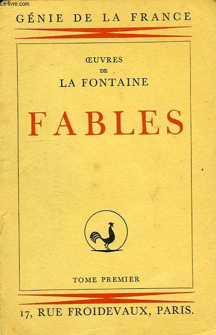 FABLES, TOME I