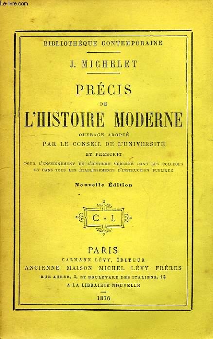 PRECIS DE L'HISTOIRE MODERNE