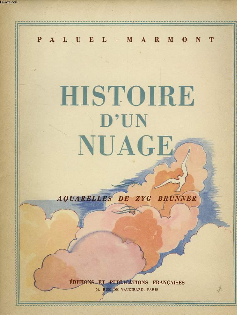 HISTOIRE D'UN NUAGE