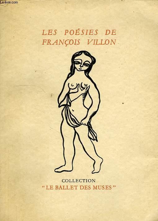 LES POESIES DE FRANCOIS VILLON, PARISIEN