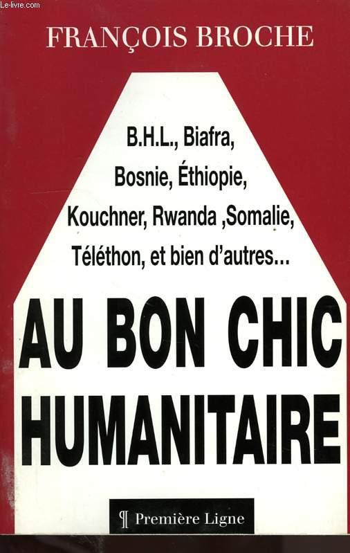 AU BON CHIC HUMANITAIRE