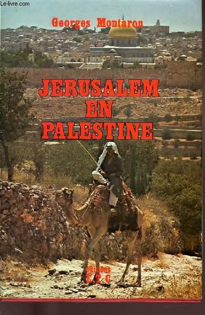 JERUSALEM EN PALESTINE.