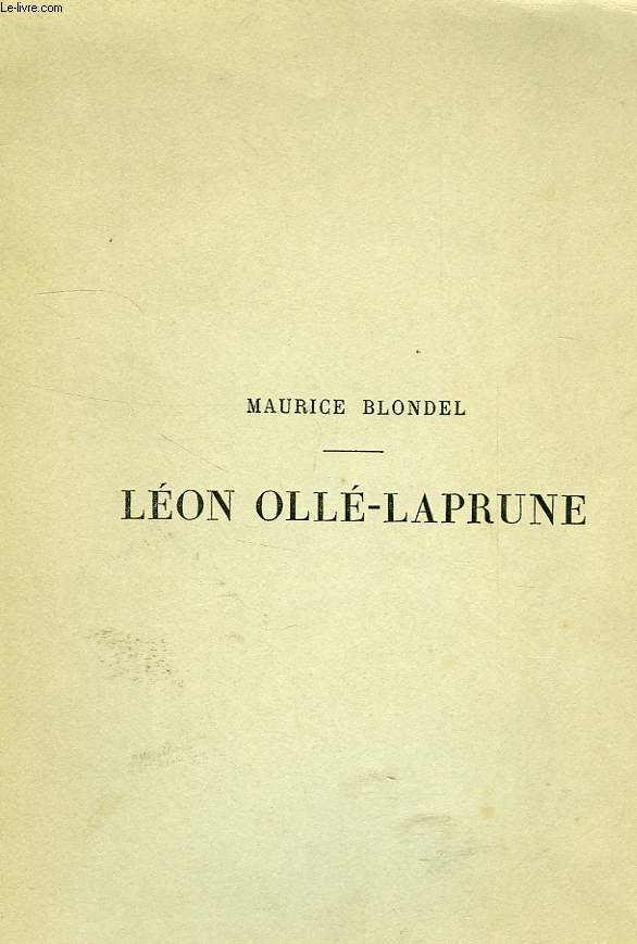 LEON OLLE-LAPRUNE