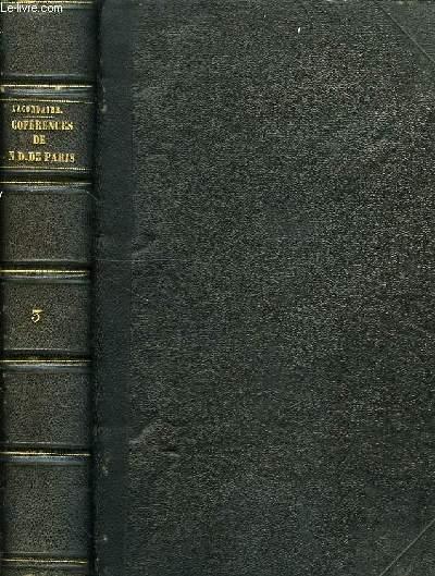 CONFERENCES DE NOTRE-DAME DE PARIS, TOME III, 1848-1849-1850