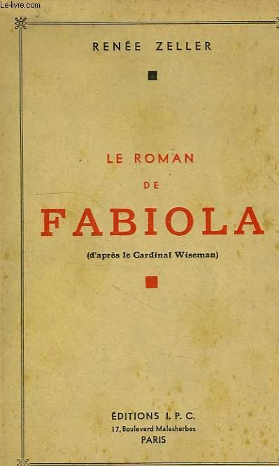 LE ROMAN DE FABIOLA