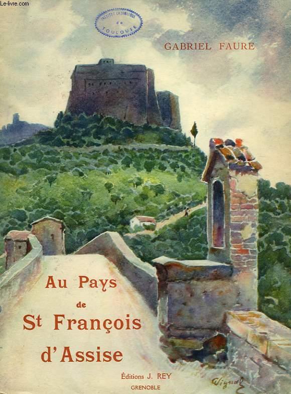AU PAYS DE SAUNT FRANCOIS D'ASSISE