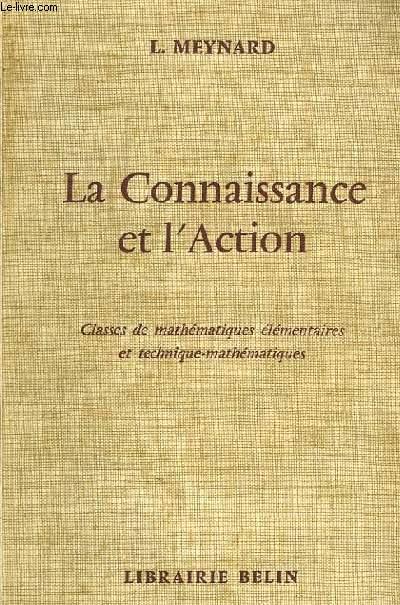 LA CONNAISSANCE ET L'ACTION