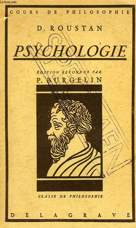 PSYCHOLOGIE, CLASSE DE PHILOSOPHIE