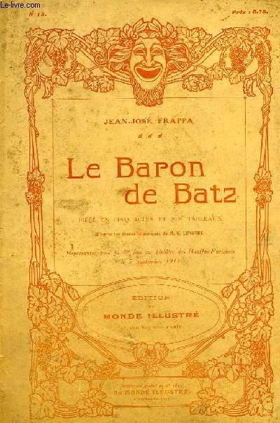 LE BARON DE BATZ, PIECE EN CINQ ACTES ET SIX TABLEAUX