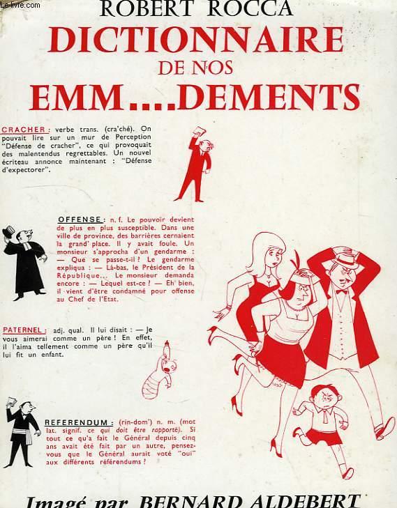 DICTIONNAIRE DE NOS EMM..DEMENTS