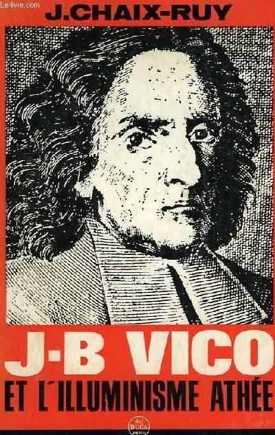 J.-B. VICO, ET L'ILLUMINISME ATHEE