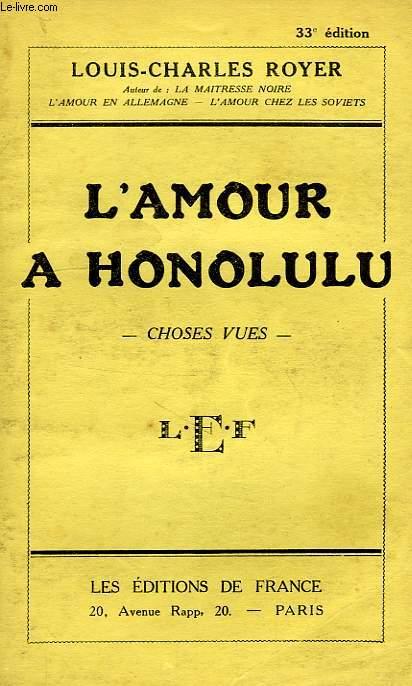 L'AMOUR A HONOLULU