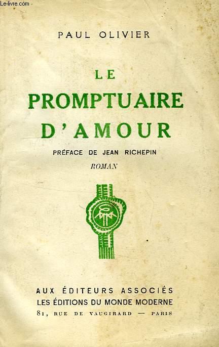 LE PROMPTUAIRE D'AMOUR...