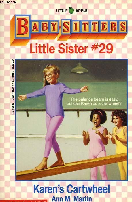 BABY-SITTERS, LITTLE SISTER, # 30, KAREN'S CARTWHEEL