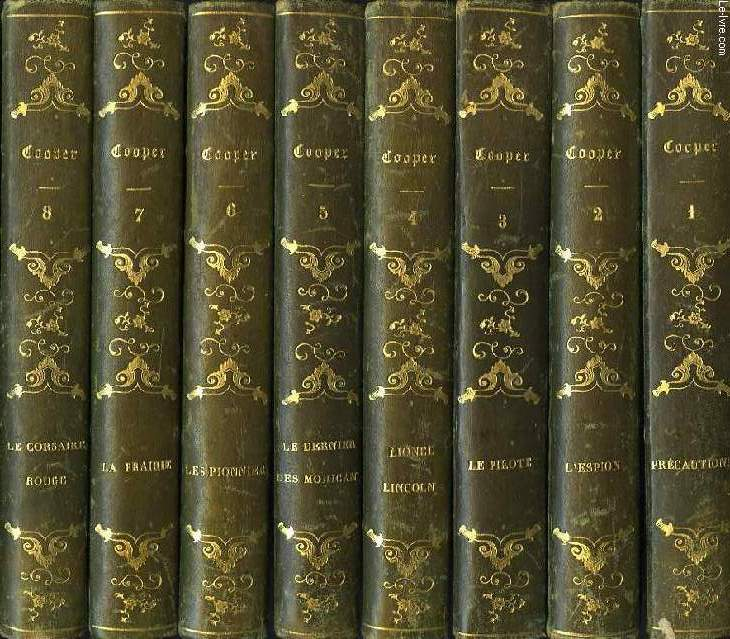 OEUVRES DE J. F. COOPER, 14 TOMES