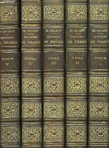 L'HISTOIRE DE FRANCE DEPUIS LES TEMPS LES PLUS RECULES JUSQU'EN 1789, RACONTEE A MES PETITS ENFANTS (5 TOMES), PLUS L'HISTOIRE DE FRANCE DEPUIS 1789 JUSQU'EN 1848, RACONTEE A MES PETITS ENFANTS (2 TOMES)
