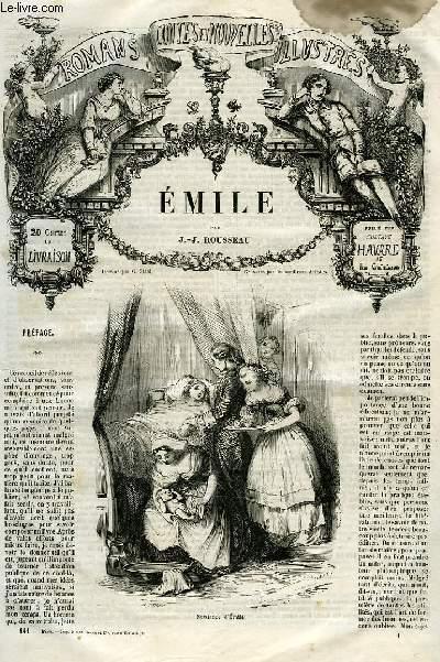 ROMANS, CONTES ET NOUVELLES ILLUSTRES: EMILE