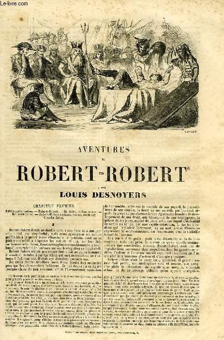 AVENTURES DE ROBERT-ROBERT