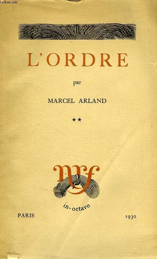 L'ORDRE, TOME II