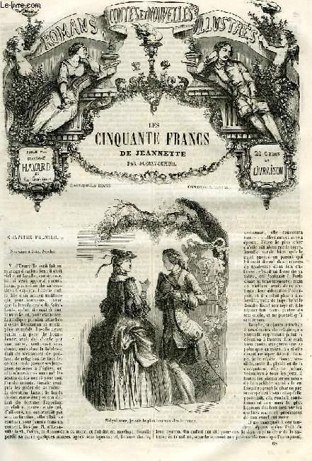 ROMANS, CONTES ET NOUVELLES ILLUSTRES, LES CINQUANTE FRANCS DE JEANNETTE