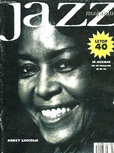 JAZZ MAGAZINE, N° 403, AVRIL 1991