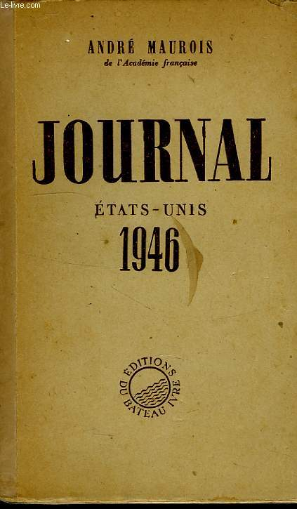 JOURNAL (ETATS-UNIS, 1946)