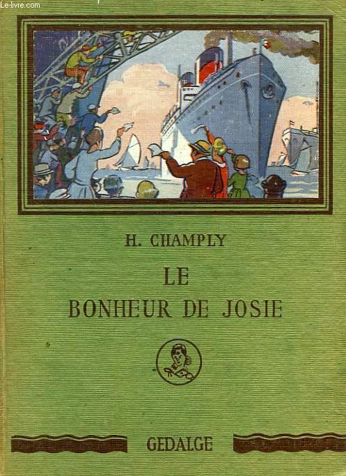LE BONHEUR DE JOSIE