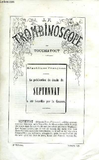 LE TROMBINOSCOPE, 3e VOLUME, N° 138