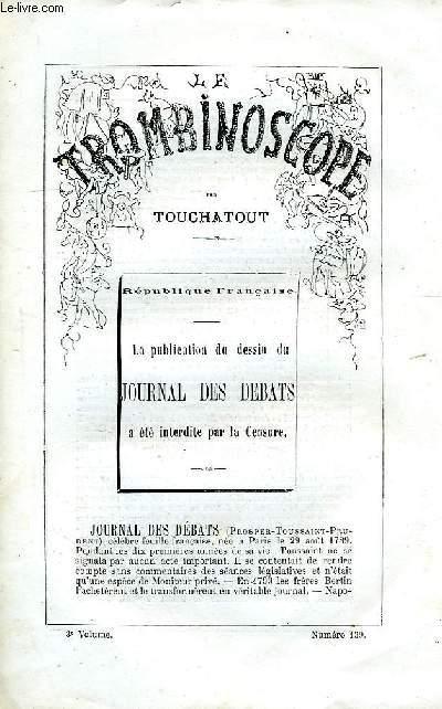 LE TROMBINOSCOPE, 3e VOLUME, N° 139