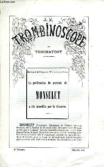 LE TROMBINOSCOPE, 3e VOLUME, N° 140