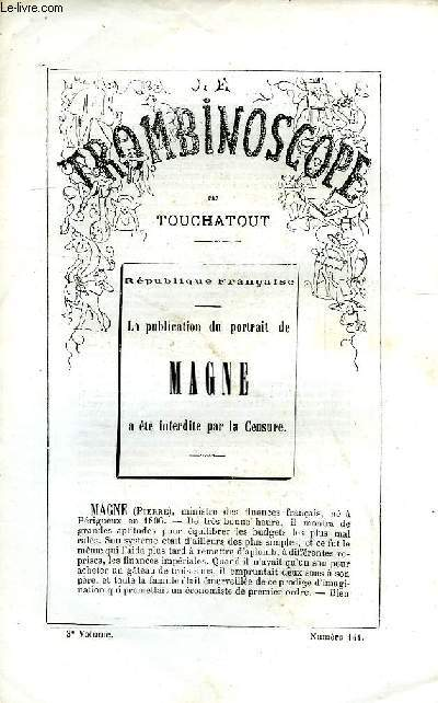 LE TROMBINOSCOPE, 3e VOLUME, N° 144