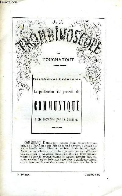 LE TROMBINOSCOPE, 3e VOLUME, N° 146
