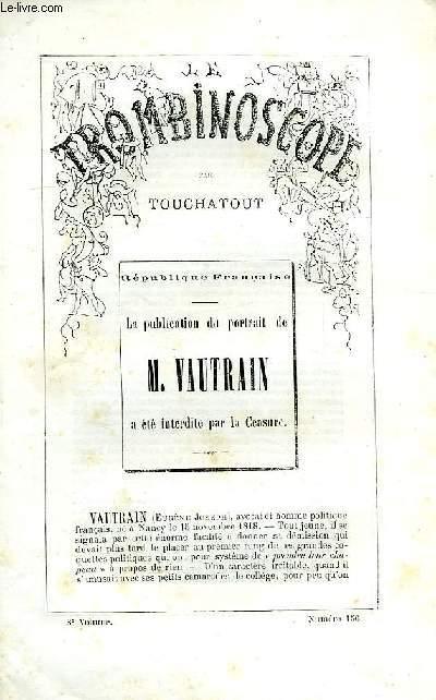 LE TROMBINOSCOPE, 3e VOLUME, N° 156