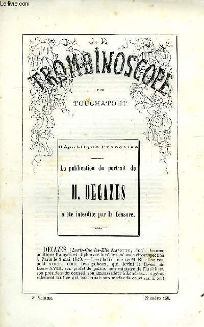 LE TROMBINOSCOPE, 3e VOLUME, N° 158