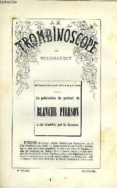 LE TROMBINOSCOPE, 3e VOLUME, N° 164