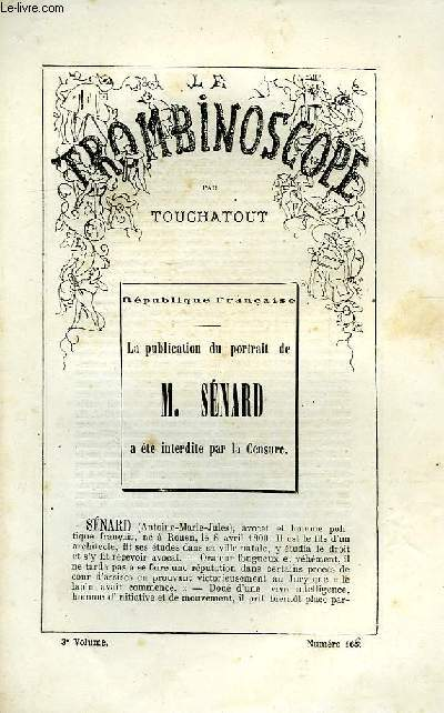 LE TROMBINOSCOPE, 3e VOLUME, N° 165