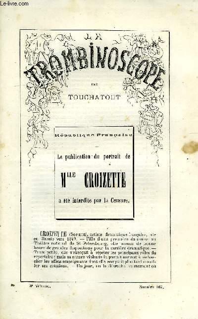 LE TROMBINOSCOPE, 3e VOLUME, N° 167