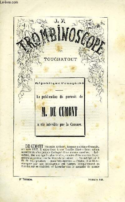 LE TROMBINOSCOPE, 3e VOLUME, N° 168
